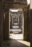 Preah Khan Temple Corridor Stock Photo