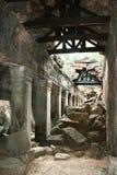 Preah khan temple Stock Photography