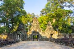 Preah Khan Temple Ruins Royalty Free Stock Photography
