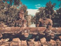 Preah Khan Temple, Siem Reap, Cambodia Royalty Free Stock Image