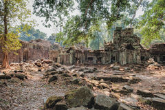 Preah Khan Temple in Siem Reap, Cambodia Stock Photo