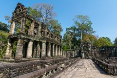 Preah Khan temple, Siem Reap, Cambodia Stock Images
