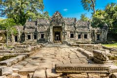 Preah Khan temple, Siem Reap, Cambodia Stock Photo