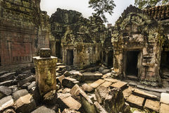 Preah Khan temple, Siem Reap, Cambodia Stock Images