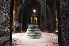Preah Khan Temple, Tempels van Angkor, Kambodja royalty-vrije stock foto's