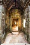 Preah Khan Temple, Tempels van Angkor, Kambodja royalty-vrije stock afbeelding