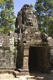 Preah Khan Wall Royalty Free Stock Photos