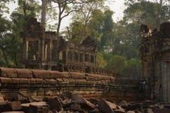Preah Khan wat στην Καμπότζη Στοκ Φωτογραφίες