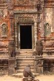 Preah Ko在吴哥 库存照片