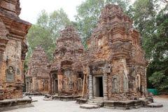 Preah Ko świątyni ruiny Fotografia Stock