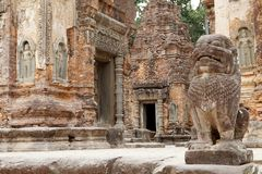 Preah Ko świątyni ruiny Zdjęcie Royalty Free