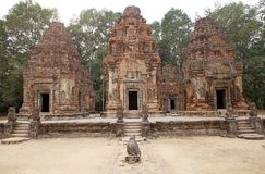 Preah Ko świątyni ruiny Obrazy Royalty Free