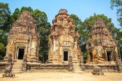 Preah Ko świątynia w Angkor Wat kompleksie Obrazy Royalty Free