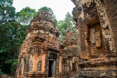 Preah Ko Ο ναός σύνθετος Angkor Στοκ Φωτογραφίες