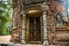 Preah Ko Ο ναός σύνθετος Angkor Στοκ εικόνα με δικαίωμα ελεύθερης χρήσης