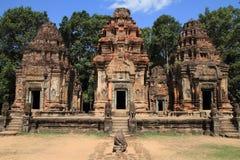 Preah Ko in Angkor stock afbeelding