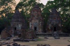 Preah Ko angkor Kambodża Fotografia Royalty Free