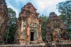 Preah Ko Der Tempelkomplex von Angkor Stockfoto