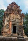 Preah Ko Der Tempelkomplex von Angkor Stockbilder