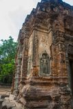 Preah Ko Der Tempelkomplex von Angkor Stockfotos