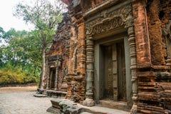 Preah Ko Der Tempelkomplex von Angkor Stockbild