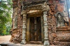 Preah Ko Der Tempelkomplex von Angkor Lizenzfreies Stockbild
