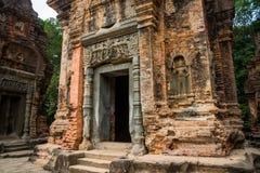 Preah Ko Der Tempelkomplex von Angkor Lizenzfreie Stockfotos