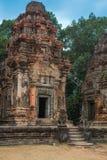 Preah Ko Tempelkomplexet av Angkor royaltyfri foto
