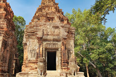 Preah Ko temple in Angkor Complex, Cambodia Stock Photos