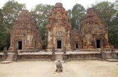 Preah Ko temple ruins Royalty Free Stock Images