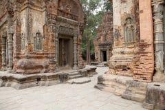 Preah Ko temple ruins Royalty Free Stock Photos