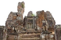 Preah Ko temple ruins Stock Photos