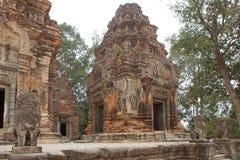 Preah Ko temple ruins Stock Images