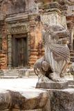 Preah Ko temple ruins Stock Photography