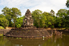 Preah Neak Pean Temple. Angkor. Cambodia Royalty Free Stock Photos