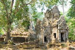 Preah Pithu in Angkor, Cambodia Royalty Free Stock Images