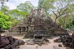 Preah Pithu tempel, Angkor Thom Royaltyfri Fotografi