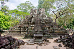 Preah Pithu temple, Angkor Thom Royalty Free Stock Photography