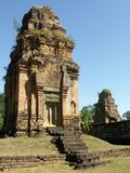 Preah Rup temple. In Siem Reap, Cambodia Royalty Free Stock Photo
