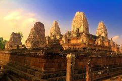 Preah Rup temple in angkor Stock Photography