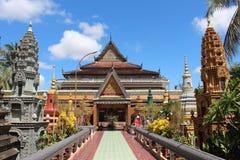 Preah studentbalRath tempel, Cambodja Arkivfoto