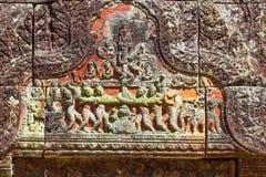 PREAH VIHEAR寺庙奇迹柬埔寨王国世界遗产  免版税库存图片