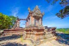 PREAH VIHEAR świątynia światowe dziedzictwo Kambodża królestwo cud Zdjęcia Royalty Free