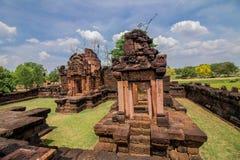 Preah vihear świątynny boczny spacer obrazy royalty free
