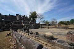Second Gopura of Preah Vihear Temple, Cambodia. Preah Vihear,Cambodia-January 10, 2019: Second Gopura of Preah Vihear Temple, Cambodia stock image