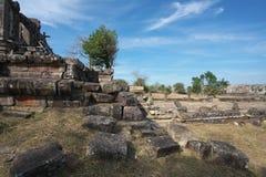 Preah Vihear,Cambodia-January 10, 2019: Second Gopura of Preah Vihear Temple, Cambodia stock photography