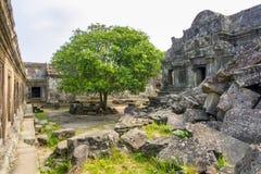 Preah Vihear Cambodja Royaltyfri Bild