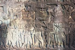 Preah Vihear Kambodża, Dec, - 03 2016: Preah Vihear świątynia fama Obrazy Royalty Free