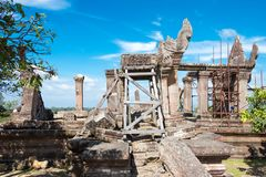 Preah Vihear Kambodża, Dec, - 03 2016: Preah Vihear świątynia fama Fotografia Stock