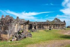 Preah Vihear Kambodża, Dec, - 03 2016: Preah Vihear świątynia fama Obraz Royalty Free